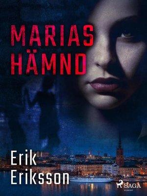 cover image of Marias hämnd
