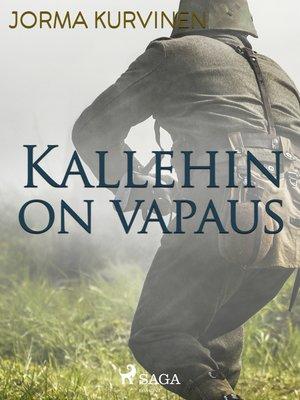 cover image of Kallehinonvapaus