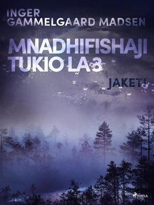 cover image of Mnadhifishaji Tukio la 3