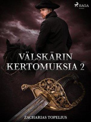 cover image of Välskärin kertomuksia 2