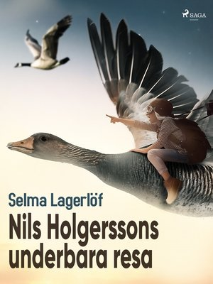 cover image of Nils Holgerssons underbara resa