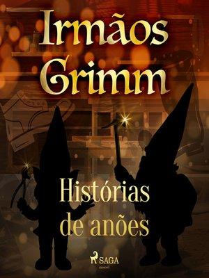cover image of Histórias de anões