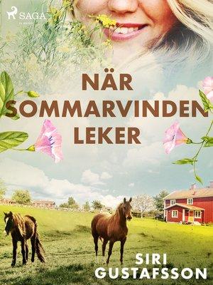 cover image of När sommarvinden leker