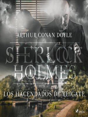 cover image of Los hacendados de Reigate--Dramatizado