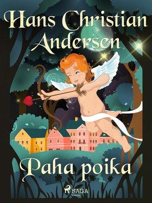 cover image of Paha poika