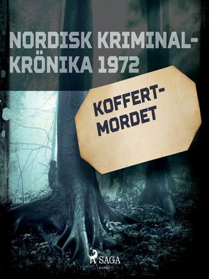 cover image of Koffertmordet