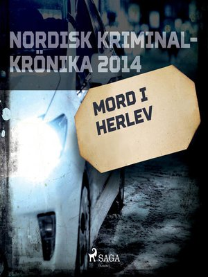 cover image of Mord i Herlev