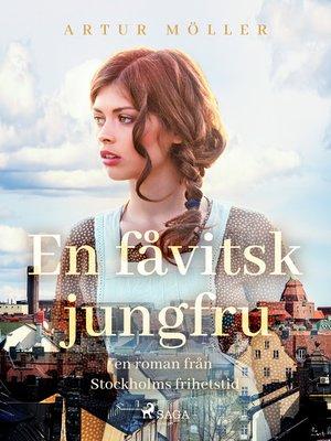 cover image of En fåvitsk jungfru