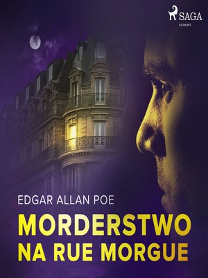 cover image of Morderstwo na Rue Morgue