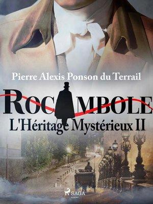 cover image of L'Héritage Mystérieux II