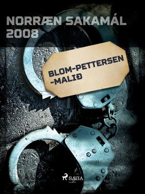 cover image of Blom-Pettersen-malið