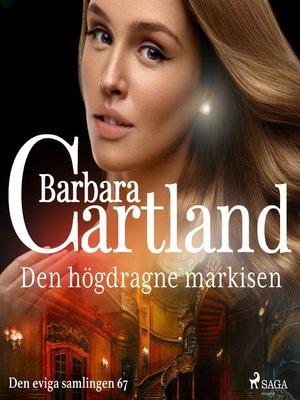 cover image of Den högdragne markisen