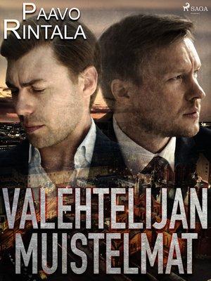 cover image of Valehtelijan muistelmat