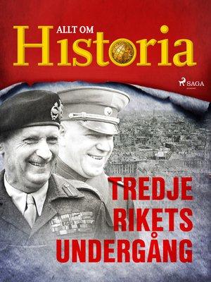 cover image of Tredje rikets undergång