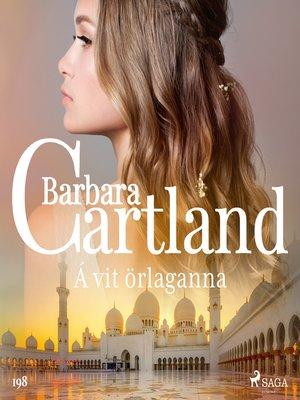 cover image of Á vit örlaganna (Hin eilífa sería Barböru Cartland 4)
