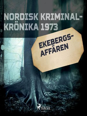 cover image of Ekebergs-affären