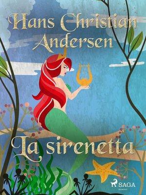 cover image of La sirenetta