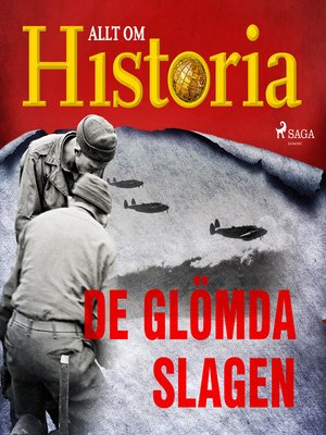 cover image of De glömda slagen