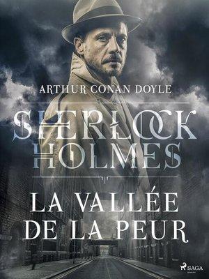 cover image of La Vallée de la peur