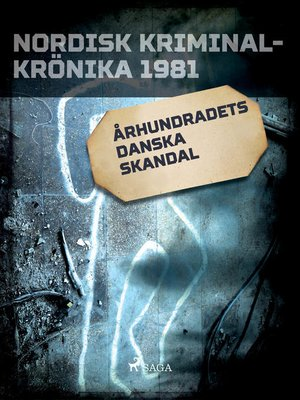 cover image of Århundradets danska skandal