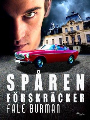 cover image of Spåren förskräcker