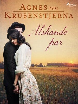 cover image of Älskande par