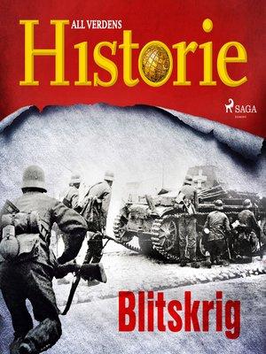 cover image of Blitskrig