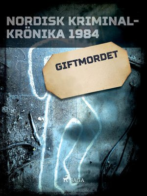 cover image of Giftmordet
