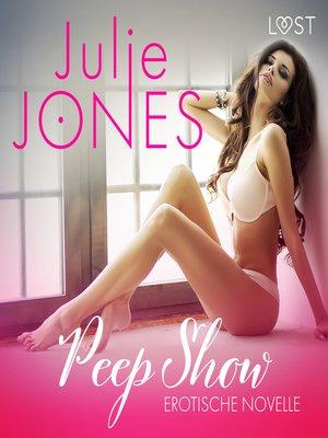 cover image of Peep Show--Erotische Novelle