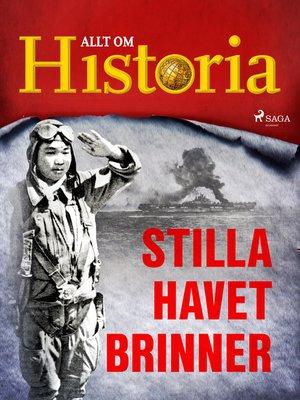 cover image of Stilla havet brinner