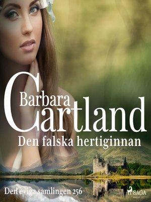 cover image of Den falska hertiginnan