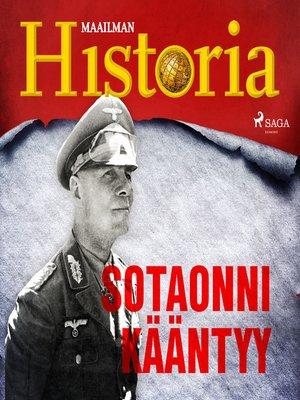 cover image of Sotaonni kääntyy
