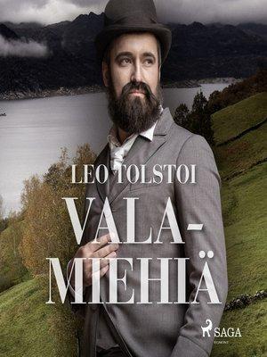 cover image of Valamiehiä