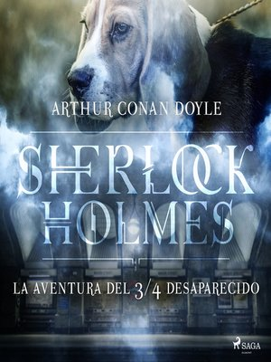 cover image of La aventura del ¾ desaparecido--Dramatizado