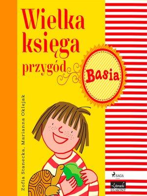 cover image of Wielka księga przygód--Basia