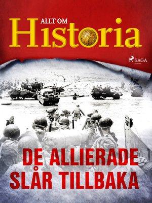 cover image of De allierade slår tillbaka