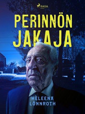 cover image of Perinnönjakaja