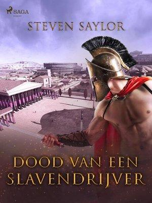 cover image of Dood van een slavendrijver