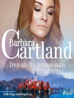 cover image of Den stolta prinsessan