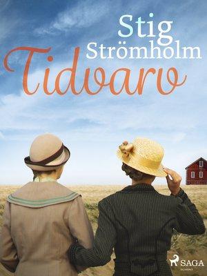 cover image of Tidvarv