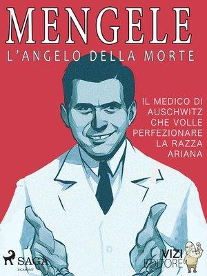 cover image of Mengele – L'angelo della morte