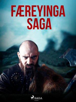 cover image of Færeyinga saga