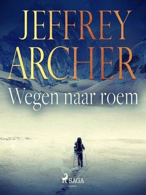 cover image of Wegen naar roem