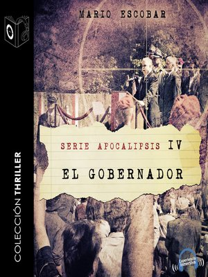 cover image of Apocalipsis IV--El gobernador