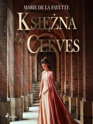 cover image of Księżna de Clèves
