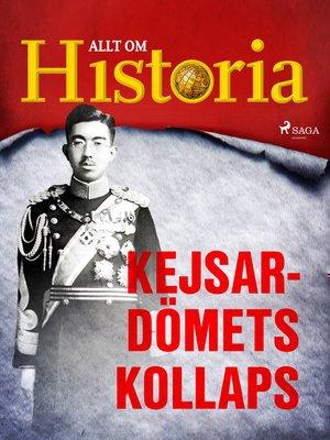 cover image of Kejsardömets kollaps