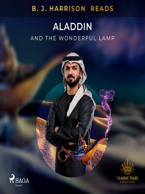 cover image of B. J. Harrison Reads Aladdin and the Wonderful Lamp