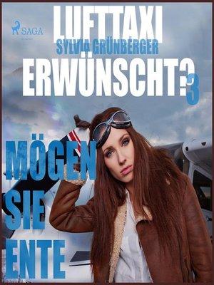 cover image of Lufttaxi gewünscht?, 3