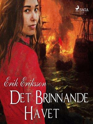 cover image of Det brinnande havet