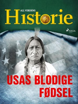 cover image of USAs blodige fødsel